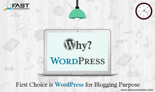 Why Blogger's first choice is WordPress