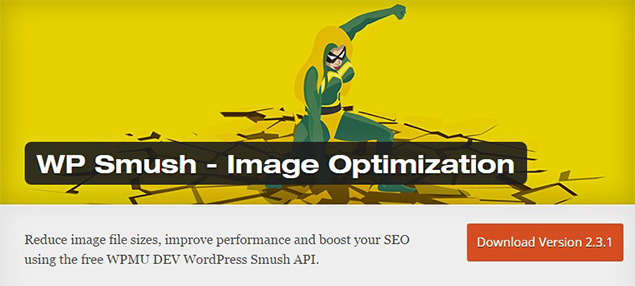 WP Smush Image Optmization WordPress Plugins